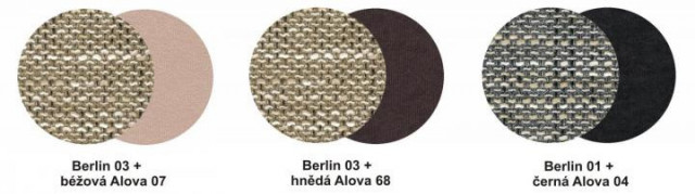 Sedací souprava Ida L Berlin 03/Alova 07