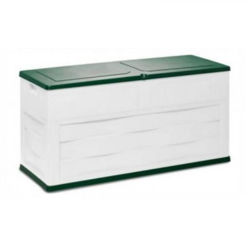 Úložný box 161 béžový/zelený