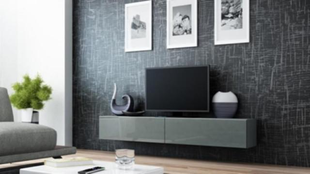 Televizní stolek VIGO 180 - šedá