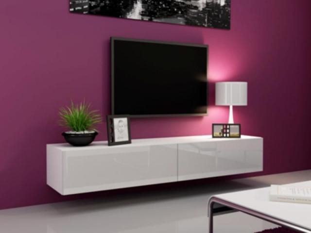 Televizní stolek VIGO 180 - bílá
