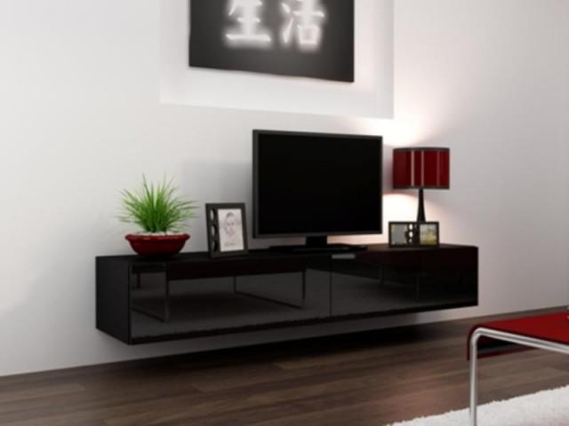 Televizní stolek VIGO 180 - černá