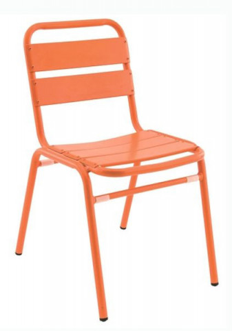 Židle Florida - oranžová