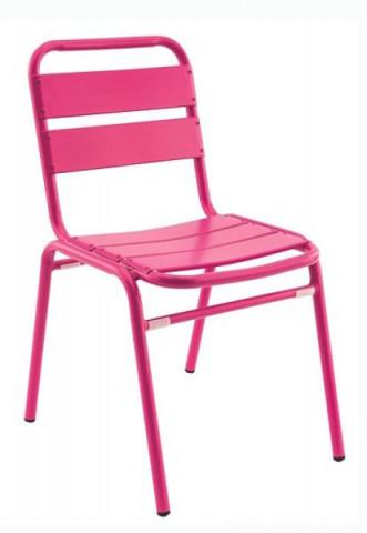 Židle Florida - růžová