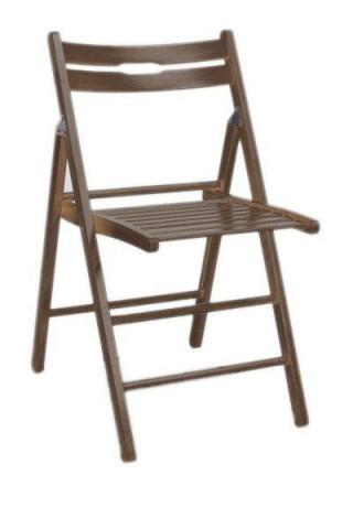 Židle Smart - tmavý ořech