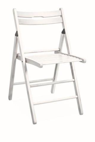 Židle Smart - bílá