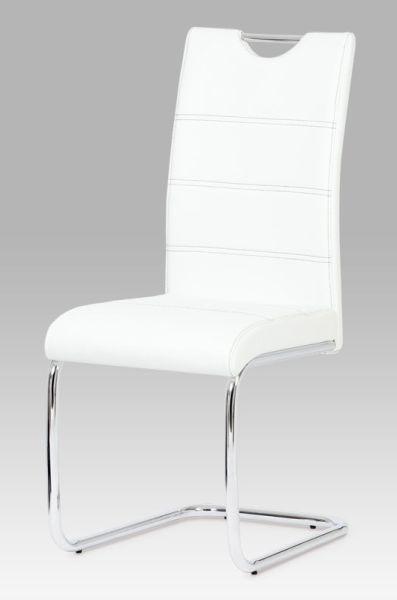 Autronic Jídelní židle HC-581 WT - bílá