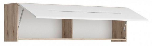 Závěsná skříňka Elpasso SFW1K - dub san remo světlý/Bílá