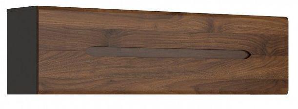 Závěsná skříňka Elpasso SFW1K - šedý wolfram/ořech kolumbia