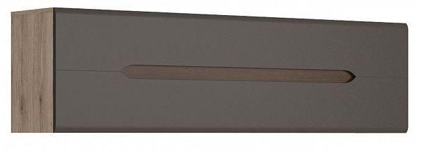 Závěsná skříňka Elpasso SFW1K - dub san remo světlý/Šedý wolfram
