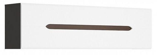 Závěsná skříňka Elpasso SFW1K - šedý wolfram/bílý mat