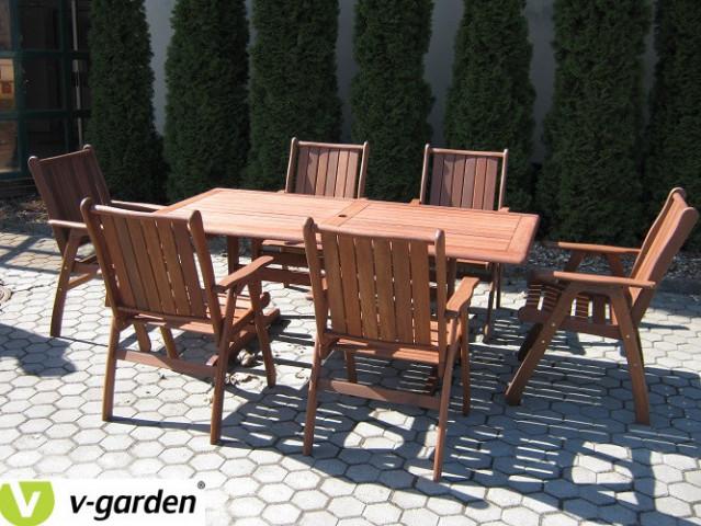 Zahradní set MERANTI VICTORIA 6