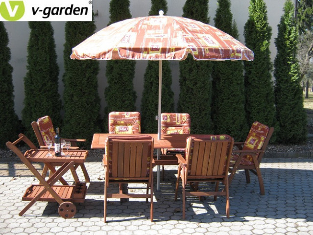 Zahradní set MERANTI VICTORIA 6 - Ilustrační foto