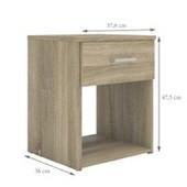 Noční stolek Sid 1S - dub sonoma