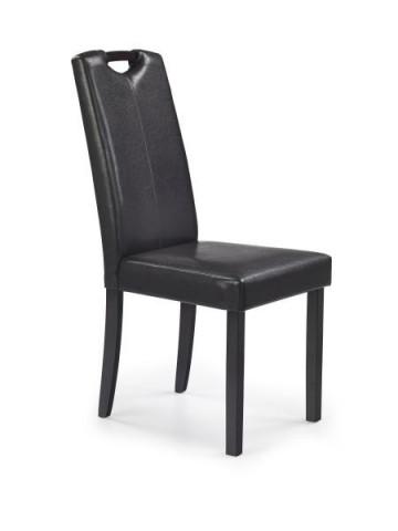 Jídelní židle Caro - wenge/tmavě hnědá