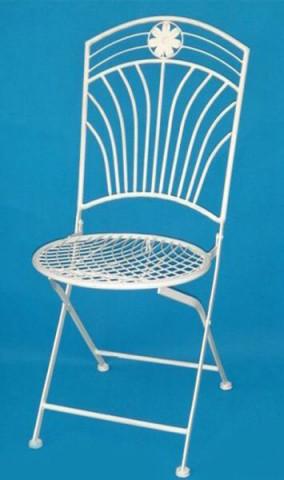 Kovová židle AH14030WH