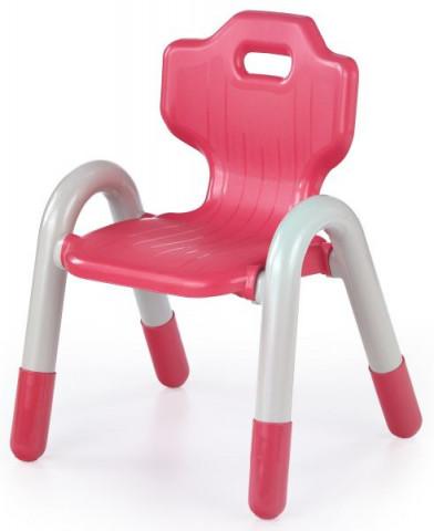 Dětská židle Bambi - červená