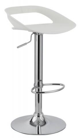 Barová židle H-61 - bílá