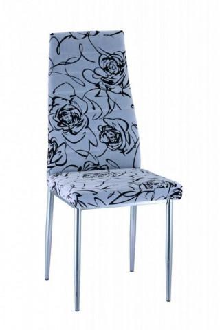 Jídelní židle H-261 - šedočerná