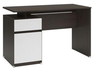 Psací stůl B04 BIU1D1S/120 Wenge - bílá