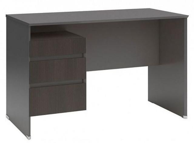 Psací stůl B04 BIU3S/120 Šedý wolfram - wenge
