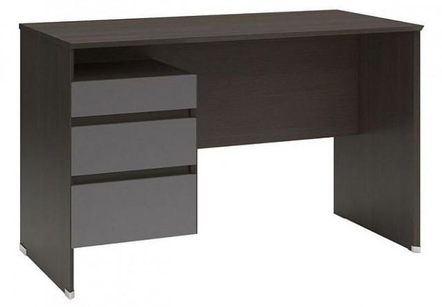 Psací stůl B04 BIU3S/120 Wenge - šedý wolfram