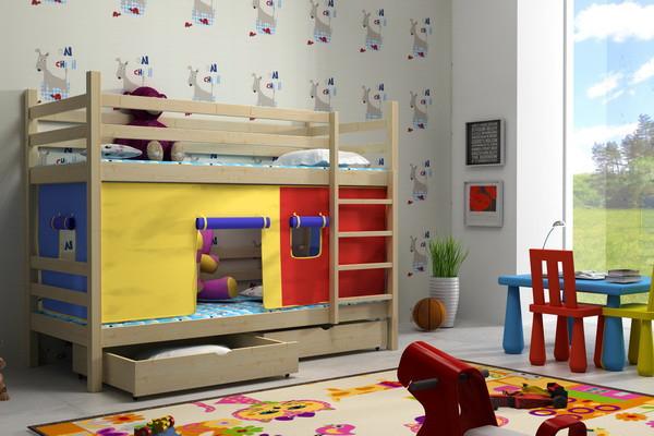 Patrová postel PP 011 + zásuvky