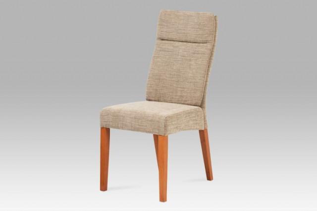 Jídelní židle BE22 - látka cappucino / třešeň