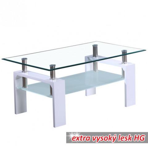 Konferenční stolek LIBOR - bílý