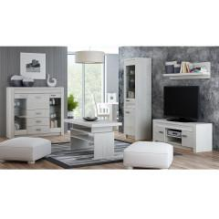 Noční stolek INFINITY - jasan bílý