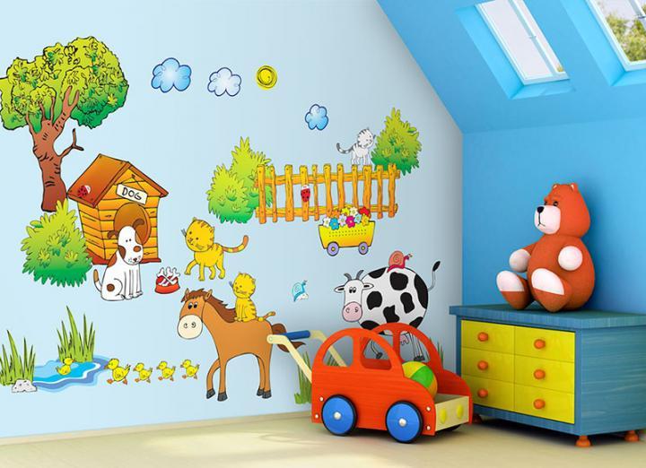 Forclaire Samolepky na zeď Farma - 2,4 m2