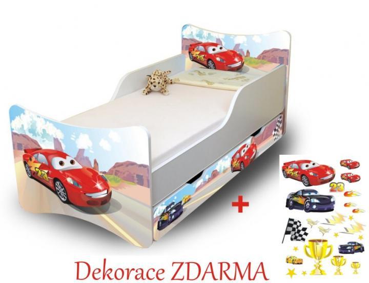 Forclaire Dětská postel Racer Postel bez úložného prostoru 160x70cm