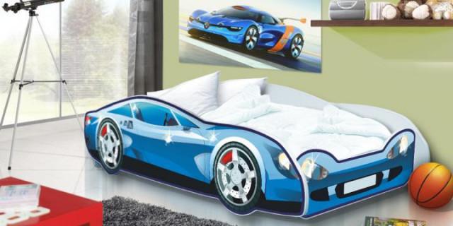 Dětská postel Auto Speedy