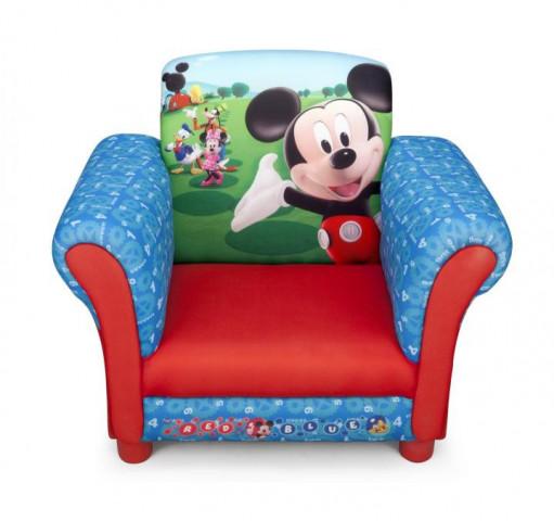 Disney dětské čalouněné křesílko Mickey Mouse