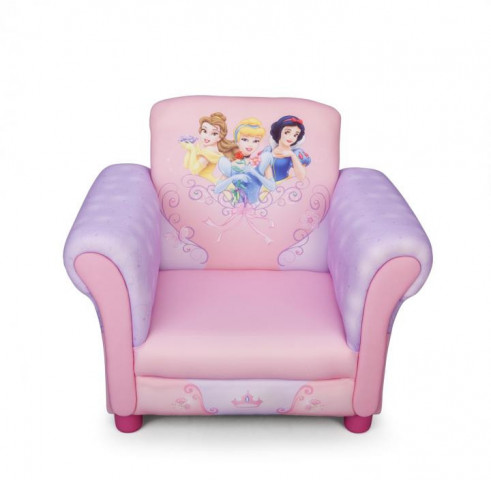 Disney dětské čalouněné křesílko Princess