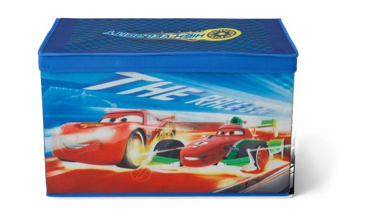 Forclaire Látková truhla na hračky Cars