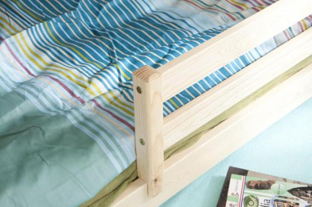 Ourbaby dětská postel s přistýlkou Marco I - Bílá