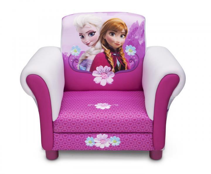 Forclaire Disney dětské čalouněné křesílko Frozen