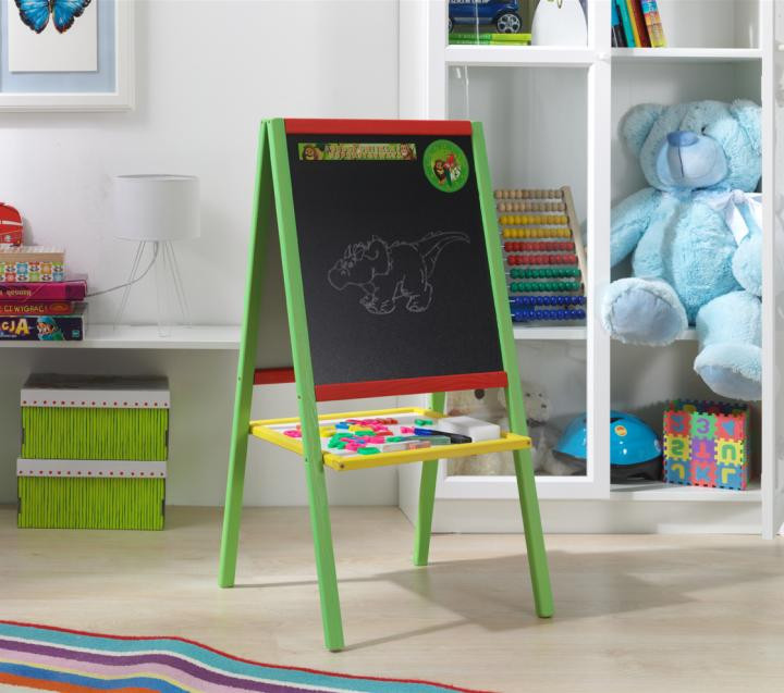 Forclaire Dřevěná dětská magnetická tabule