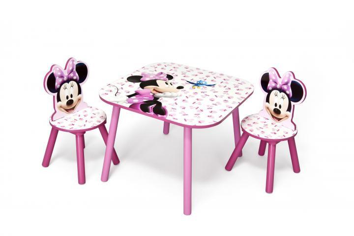 Dětský stůl s židlemi Minnie III