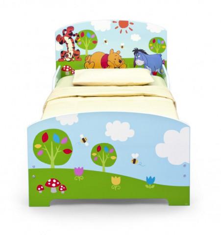 Dětská dřevěná postel Medvídek Pú