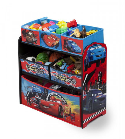 Organizér na hračky Cars II