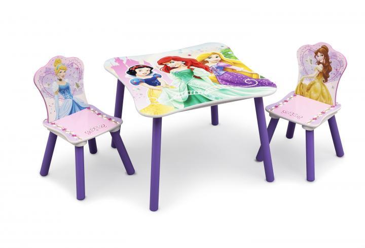 Forclaire Dětský dřevěný stůl Princess III