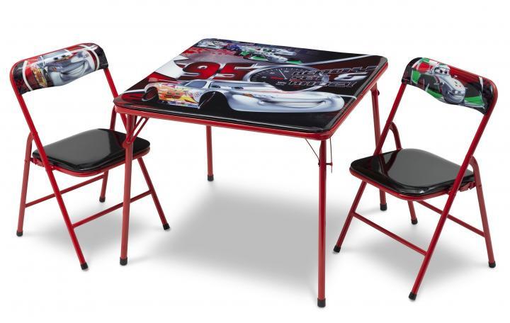 Forclaire Dětský stůl s židlemi Cars IV