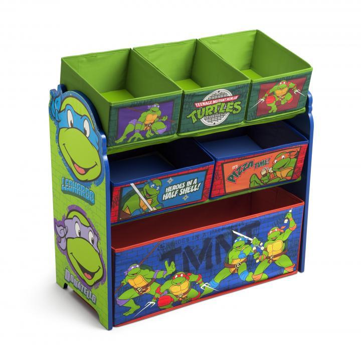 Forclaire Organizér na hračky Želvy Ninja