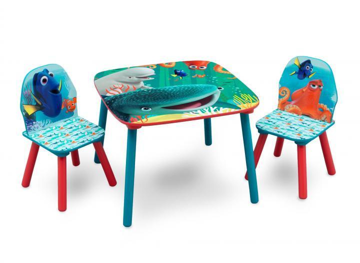 Forclaire Dětský stůl s židlemi Dory