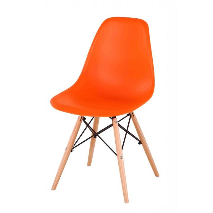 Jídelní židle CINKLA NEW - oranžová