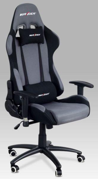 Autronic Kancelářská židle KA-F01 RED - červená
