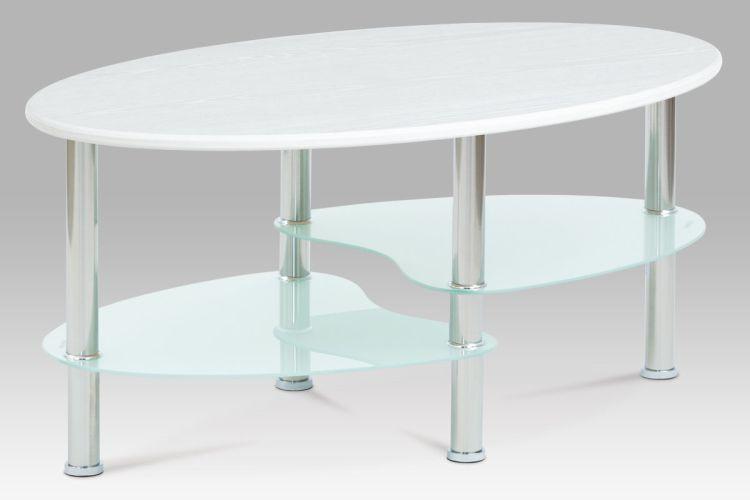 Autronic Konferenční stolek CT-1180 WT