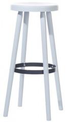 Barová dřevěná židle 371 506 Solo