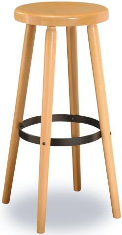Barová dřevěná židle 371 692 Robert